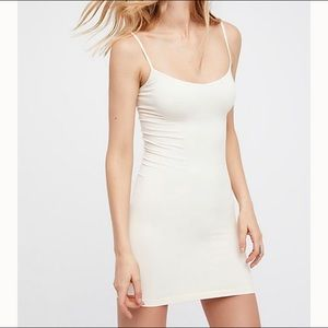 Free People Seamless Mini ivory color